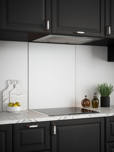 Ice White Self-Adhesive Glass Splashback