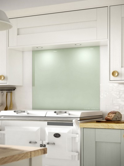 Laura Ashley Eau De Nil Self-Adhesive Glass Splashback